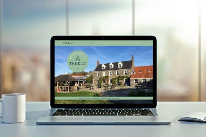 The Kiln restaurant website